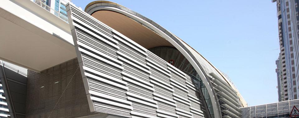 Case studies | SGB | Dubai Metro | United Arab Emirates | Transport